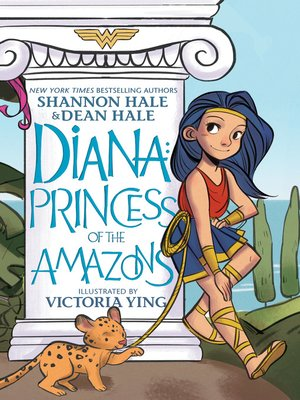 cover image of Diana: Princess of the Amazons