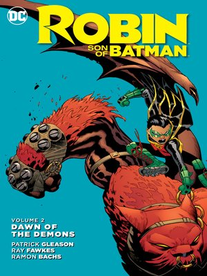 cover image of Robin: Son of Batman (2015), Volume 2