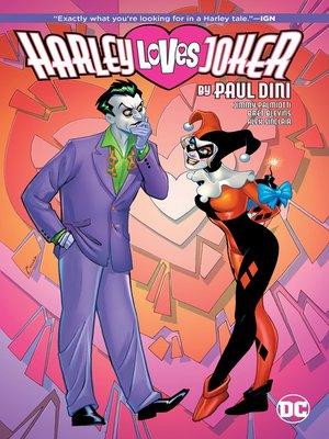 cover image of Harley Loves Joker by Paul Dini