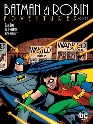 cover image of Batman & Robin Adventures (1995), Volume 1