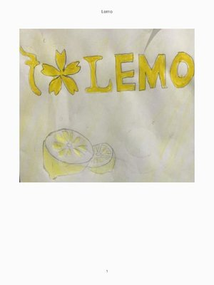 cover image of LEMO: 本編