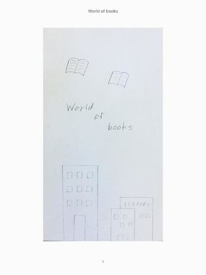 cover image of World of books: 本編