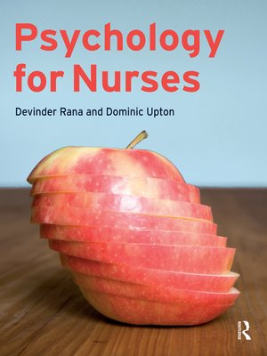 cover image of Psychology for Nurses