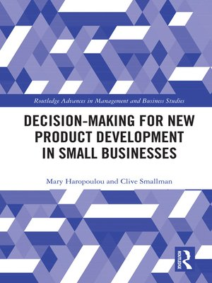 cover image of Decision-making for New Product Development in Small Businesses