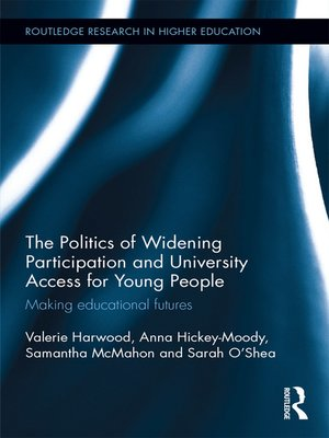 cover image of The Politics of Widening Participation and University Access for Young People