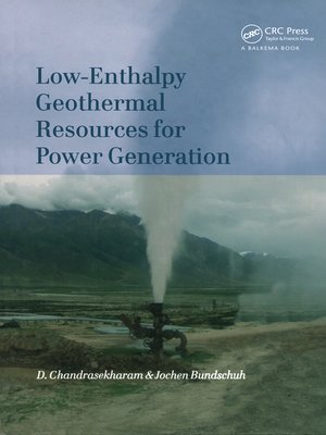 cover image of Low-Enthalpy Geothermal Resources for Power Generation