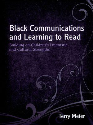 cover image of Black Communications and Learning to Read