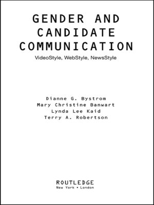 cover image of Gender and Candidate Communication