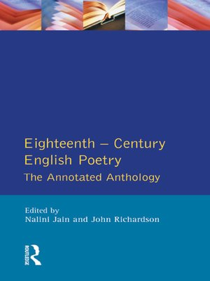 cover image of Eighteenth Century English Poetry