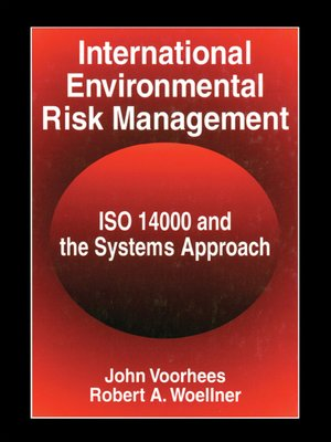 cover image of International Environmental Risk Management