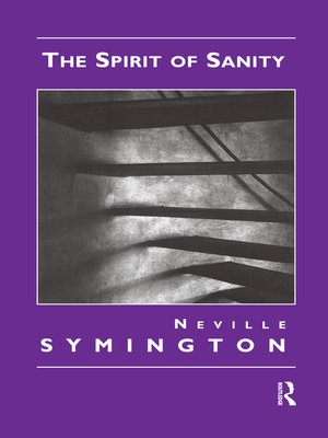cover image of The Spirit of Sanity