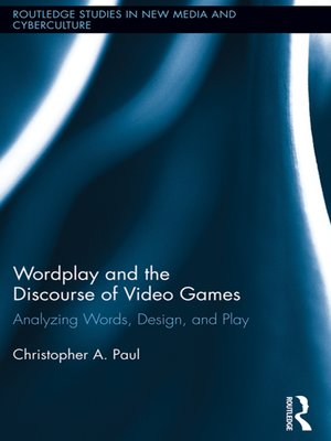 cover image of Wordplay and the Discourse of Video Games