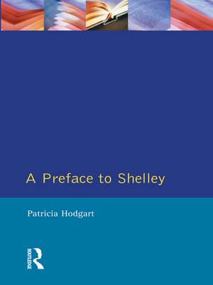 cover image of A Preface to Shelley