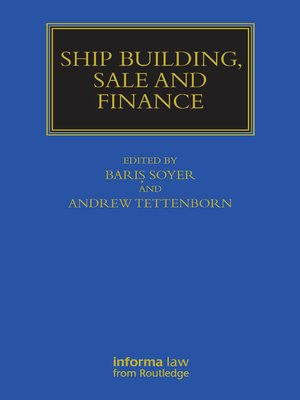 cover image of Ship Building, Sale and Finance