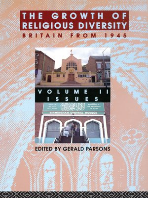 cover image of The Growth of Religious Diversity--Vol 2