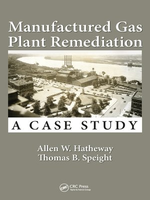 cover image of Manufactured Gas Plant Remediation