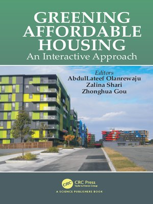 cover image of Greening Affordable Housing