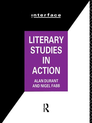 cover image of Literary Studies in Action