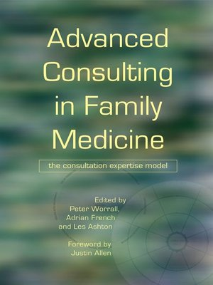 cover image of Advanced Consulting in Family Medicine