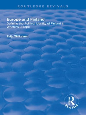 cover image of Europe and Finland