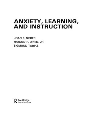 cover image of Anxiety, Learning, and Instruction