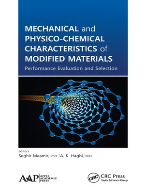 cover image of Mechanical and Physico-Chemical Characteristics of Modified Materials