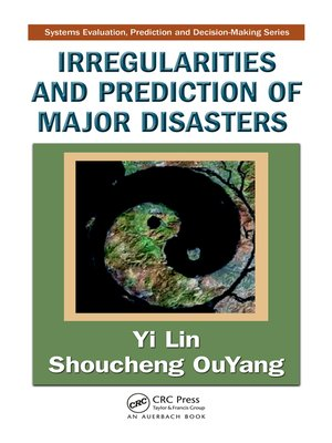 cover image of Irregularities and Prediction of Major Disasters