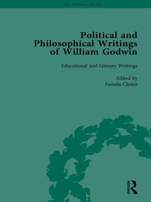 cover image of The Political and Philosophical Writings of William Godwin vol 5