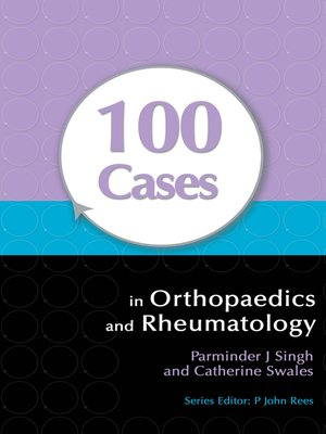 cover image of 100 Cases in Orthopaedics and Rheumatology