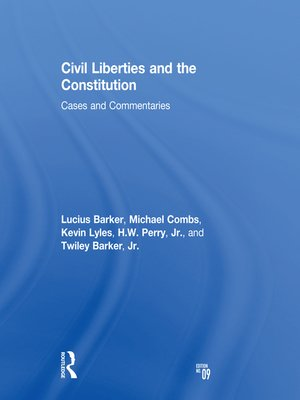 cover image of Civil Liberties and the Constitution