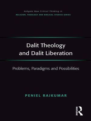 cover image of Dalit Theology and Dalit Liberation