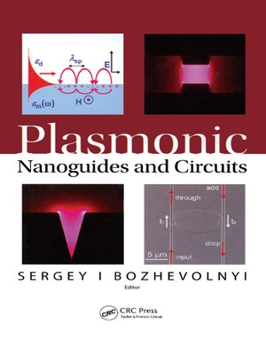 cover image of Plasmonic Nanoguides and Circuits