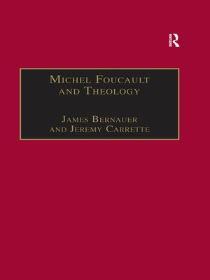 cover image of Michel Foucault and Theology