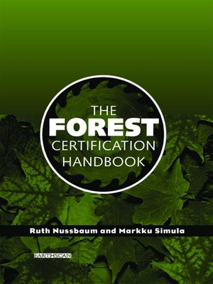 cover image of The Forest Certification Handbook