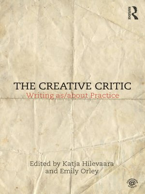 cover image of The Creative Critic