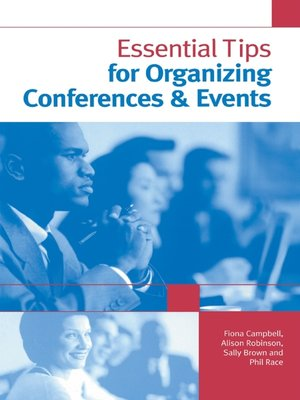 cover image of Essential Tips for Organizing Conferences & Events