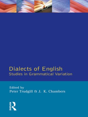 cover image of Dialects of English