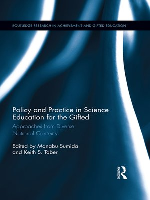 cover image of Policy and Practice in Science Education for the Gifted