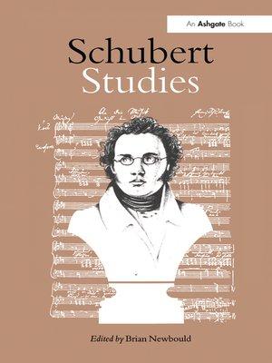 cover image of Schubert Studies