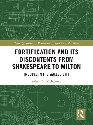 cover image of Fortification and Its Discontents from Shakespeare to Milton