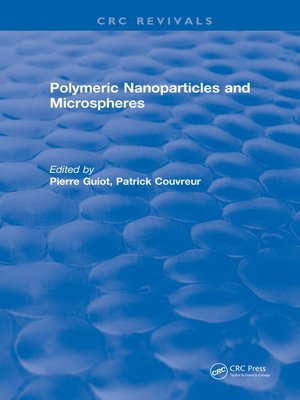 cover image of Polymeric Nanoparticles and Microspheres