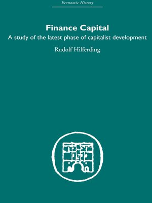 cover image of Finance Capital