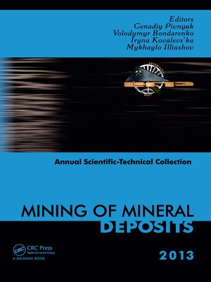 cover image of Mining of Mineral Deposits