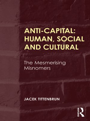 cover image of Anti-Capital
