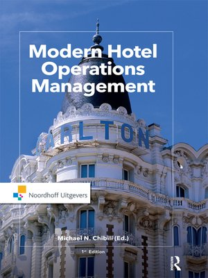cover image of Modern Hotel Operations Management