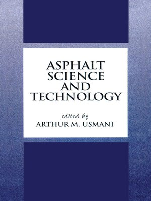 cover image of Asphalt Science and Technology