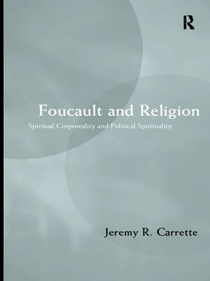 cover image of Foucault and Religion