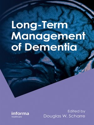 cover image of Long-Term Management of Dementia