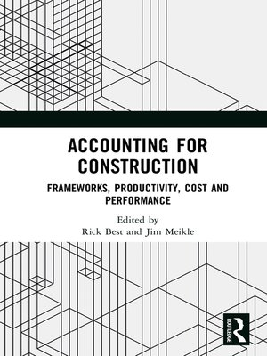 cover image of Accounting for Construction