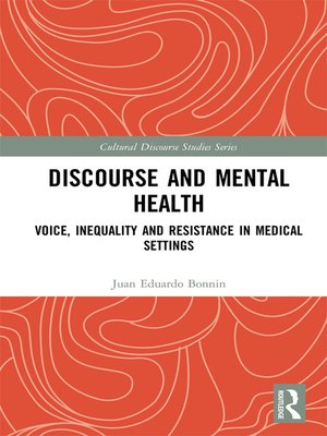cover image of Discourse and Mental Health